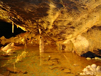 Gough's Cave Cheddar in Somerset