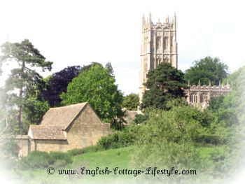 Beautiful village of Chipping Campden in the Cotswolds